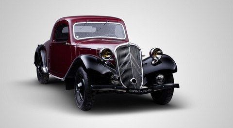 85 LET MODELU CITROËN TRACTION AVANT